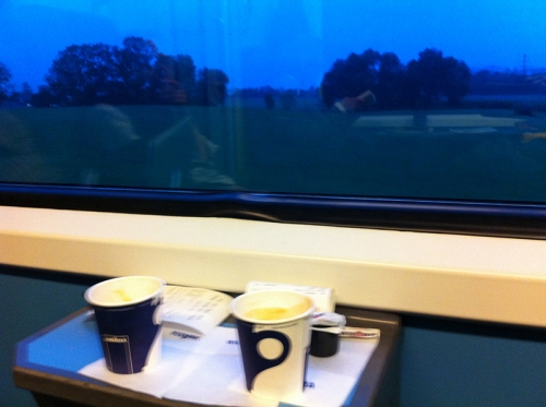 Train coffee